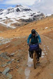 Above Mina Esperanza it begins to go muddy again | by Pikes On Bikes