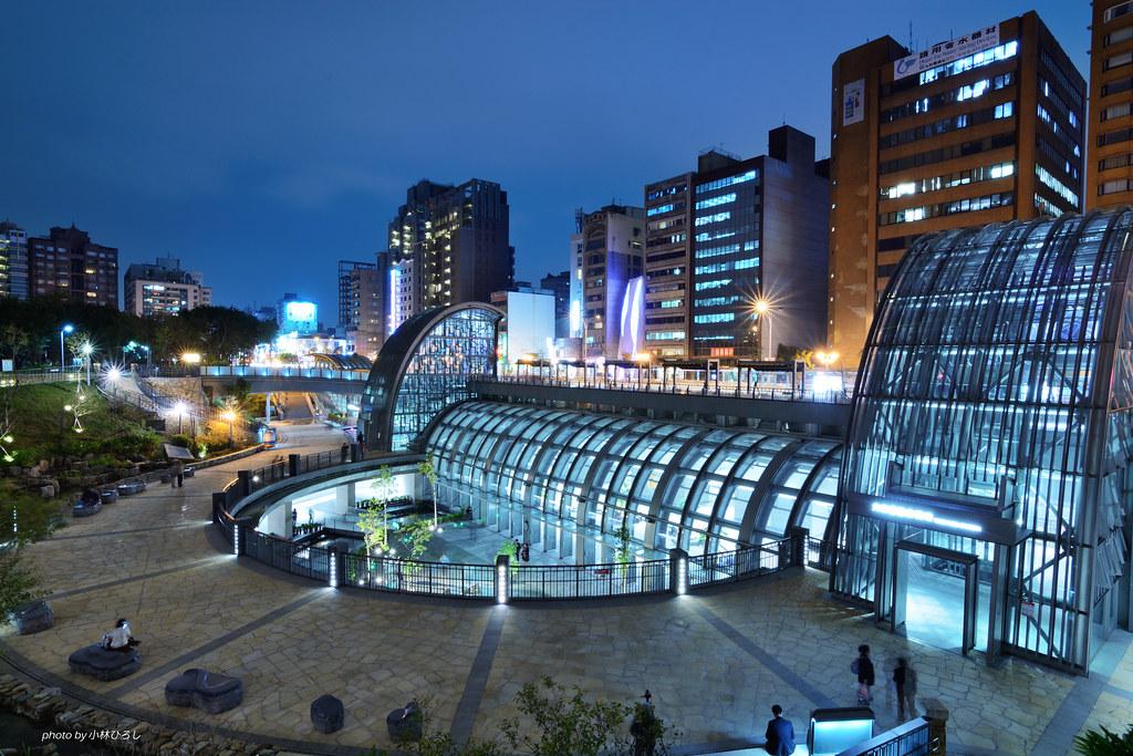 Daan Park Station Taipei Mrt 台北捷運 大安森林公園站 台北捷運信義線