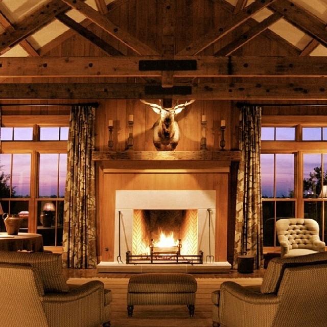 Sala De Tv Estilo Rustico ~ Casa de campo #campo #sitio #fazenda #countryhome #countr…  Flickr