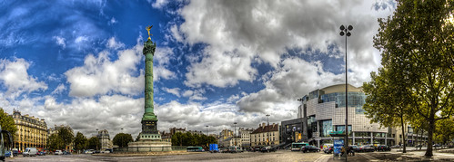 Place de la Bastille, Paris (F) | by Panoramyx