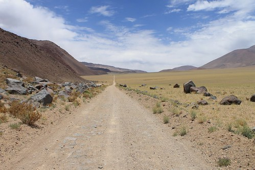 The long, straight road to Paso Socompa | by Pikes On Bikes