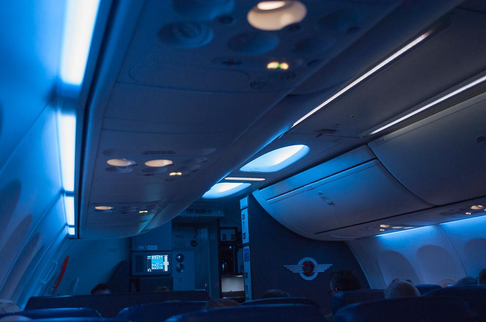 Boeing Sky Interior lighting