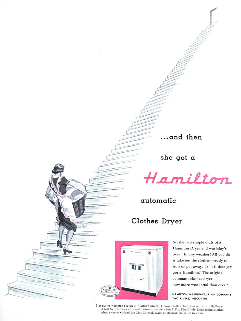 Hamilton Manufacturing Company - published in American Home - December 1951