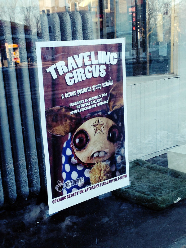 Circus Posterus - Traveling Circus - Rotofugi - February 15th, 2014
