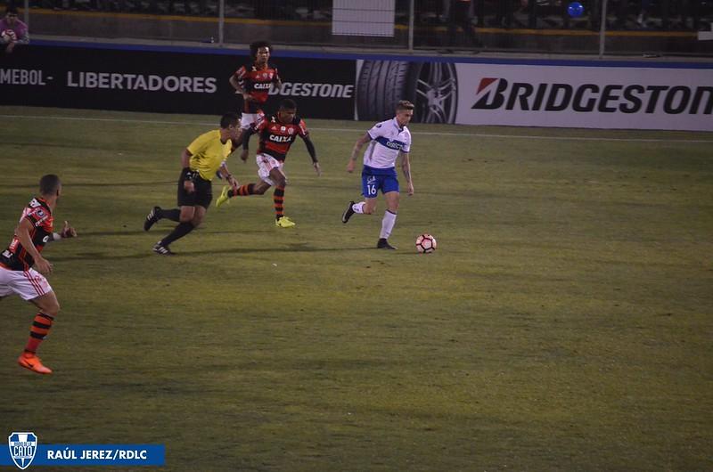 UC 1-0 Flamengo   Fecha 2 - Grupo 4 Copa Libertadores