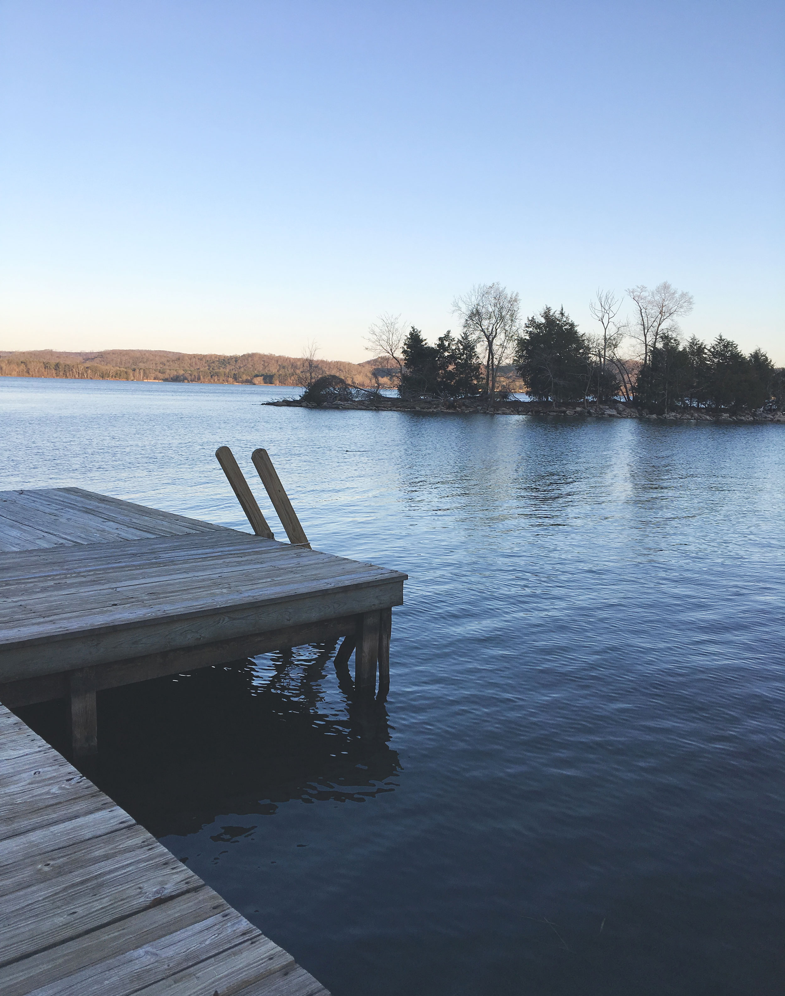 Dock at the lakehouse