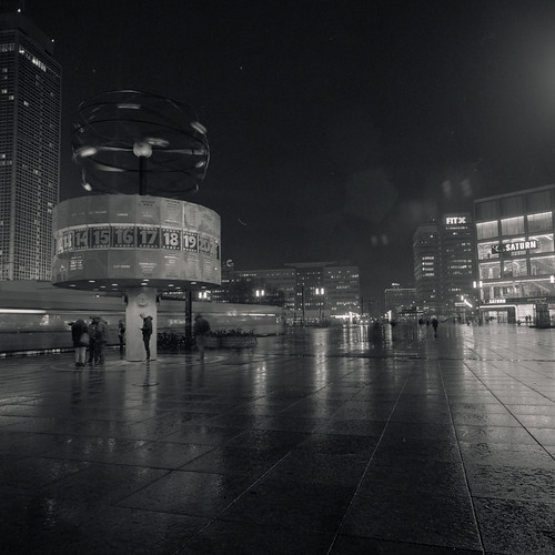 Rainy Night at Alexanderplatz | by ucn