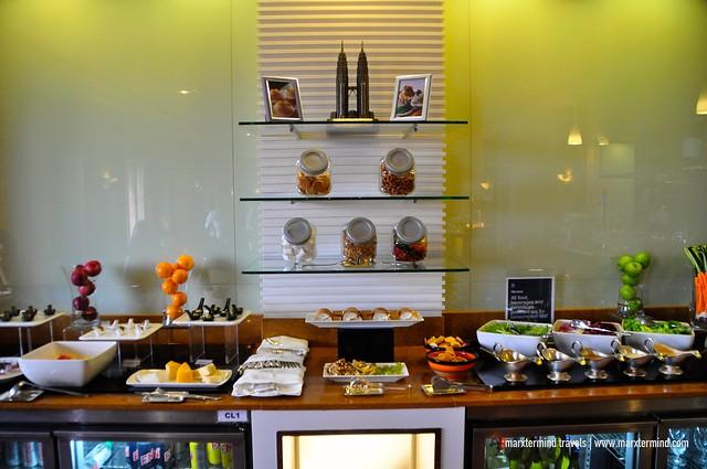 Afternoon Snack and Tea Sheraton Club Lounge Sheraton Imperial Kuala Lumpur