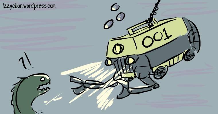 deep water submarine