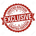 24865899-Exclusive-limited-edition-grunge-rubber-stamp-on-white-vector-illustration-Stock-Vector