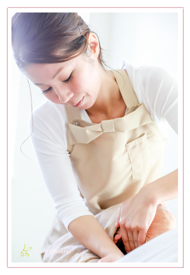 メディカルアロマ 香宇(こうう) HPS 認定プロフェッショナルアロマセラピスト 愛知県瀬戸市 プロフィール写真 サロン撮影 リフレクソロジー