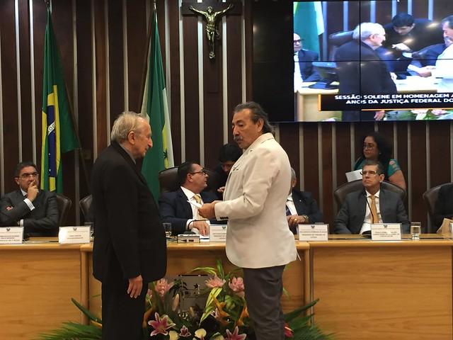 Assembleia Legislativa homenageia 50 anos da JFRN