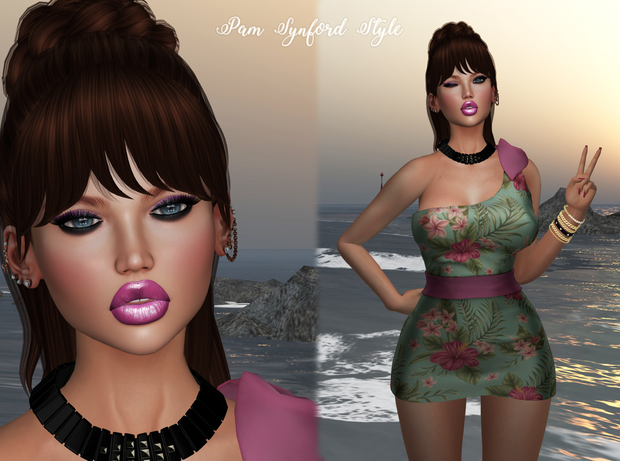 Kendrasy * Vista * Fabia Mesh Hair * White Queen * Az Designs