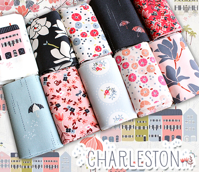 Art Gallery Fabrics Charleston Collection by Amy Sinibaldi