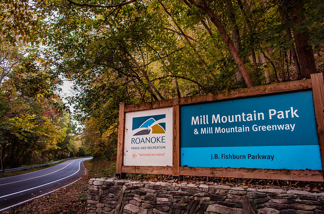 Mill Mountain Park Entrance