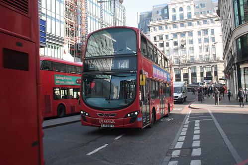Arriva London HV71 LJ62BTY