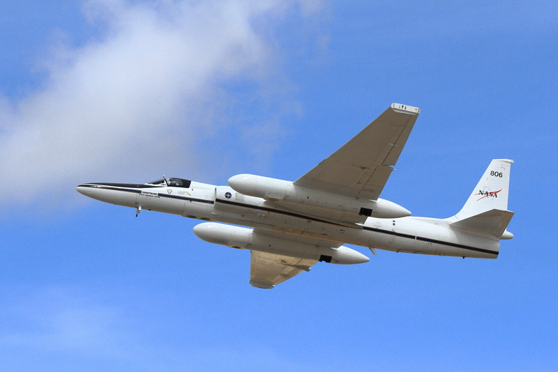 IMG_9975 NASA Lockheed ER-2 High Altitude Science Aircraft