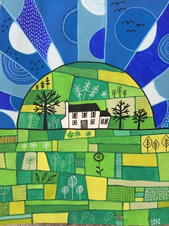 13 Green Hill Landscape | by Pict Ink