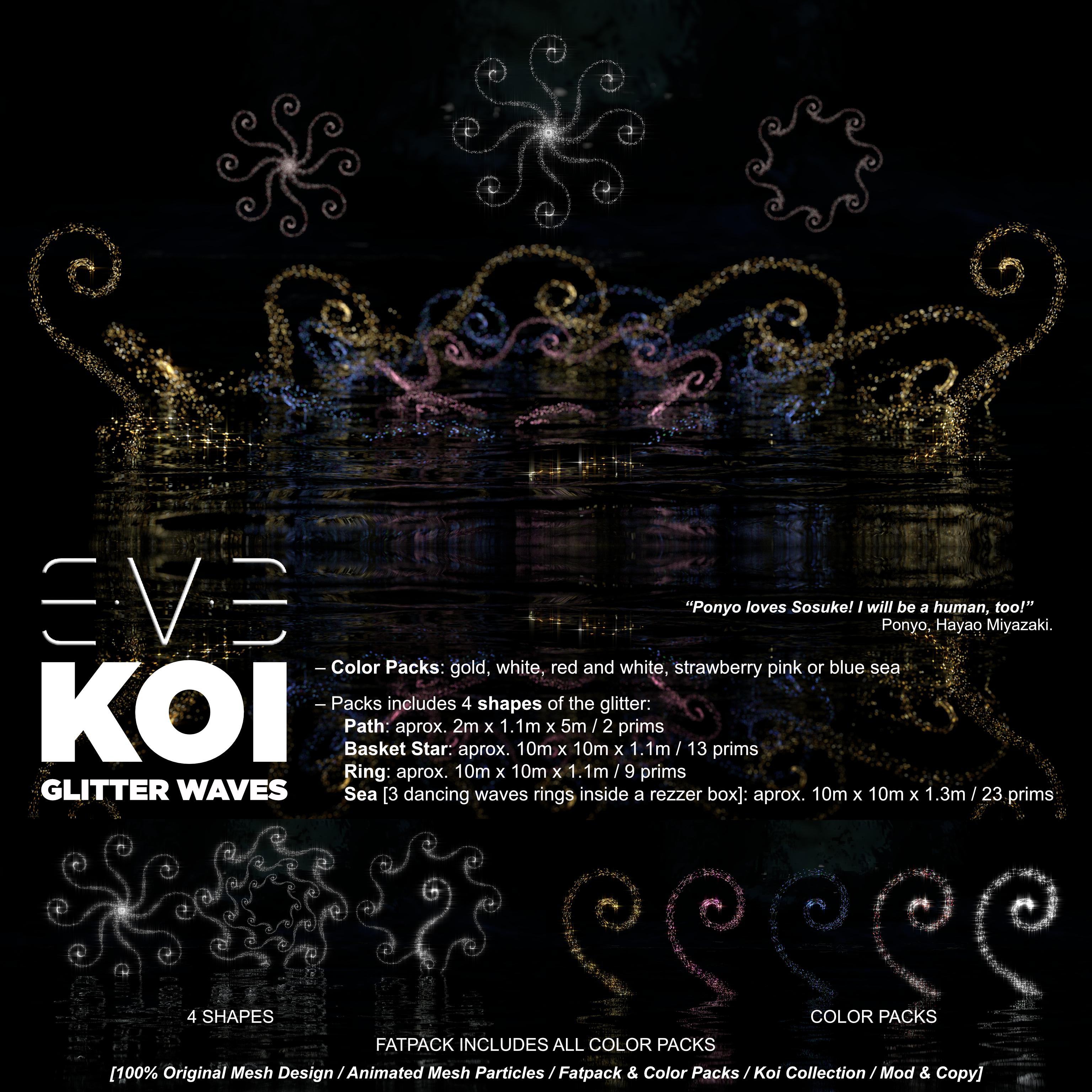 E.V.E Koi Glitter Waves [Specs]