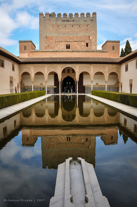 Spain | Alhambra - The Court of the Myrtles