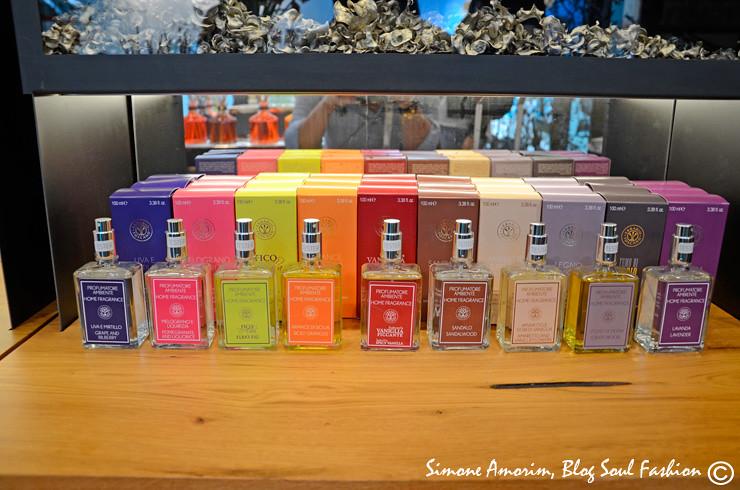 Os perfumes.