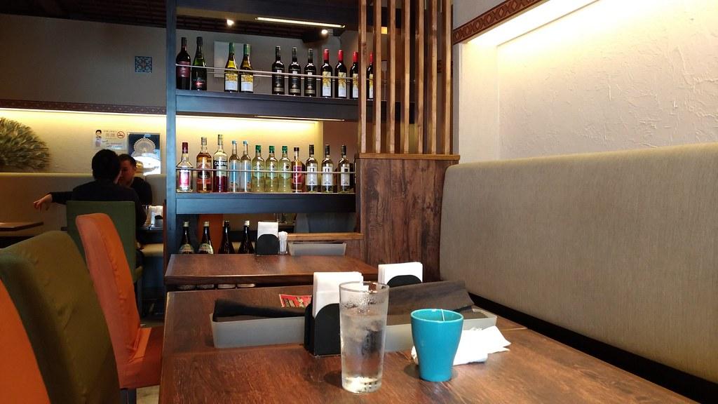「Indian Restaurant SONIA 」の店内