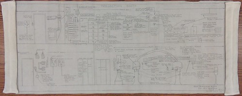RKO Virginia Projection Booth Blueprint, 1967 | by The Urbana Free Library Digital Collections