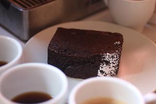 Chit's Coffee - Coffee Tasting Tartine coffee cake