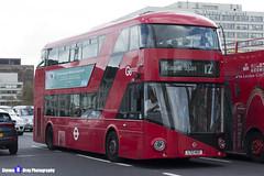 Wrightbus NRM NBFL - LTZ 1421 - LT421 - Parliament Square 12 - Go Ahead London - London 2017 - Steven Gray - IMG_8540