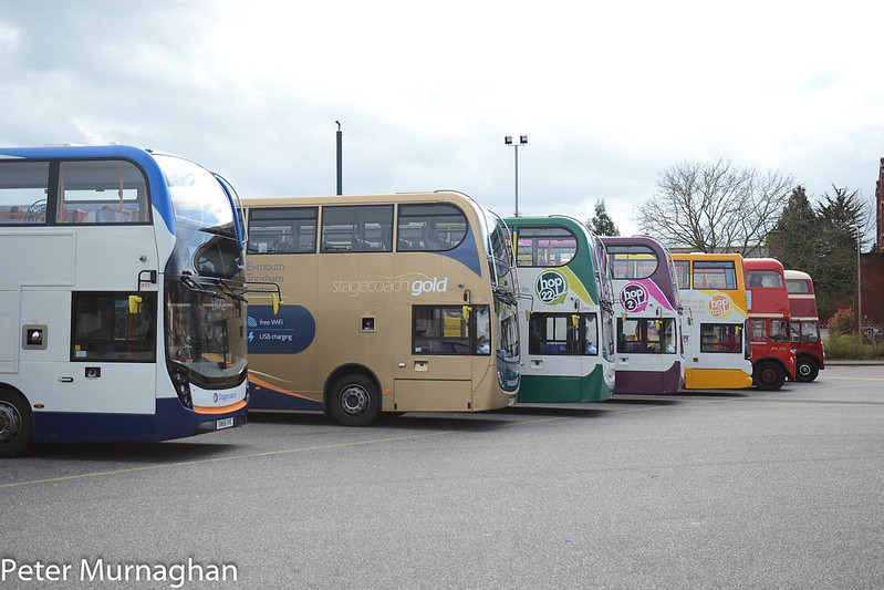 Exeter Bus Station Farewell Event