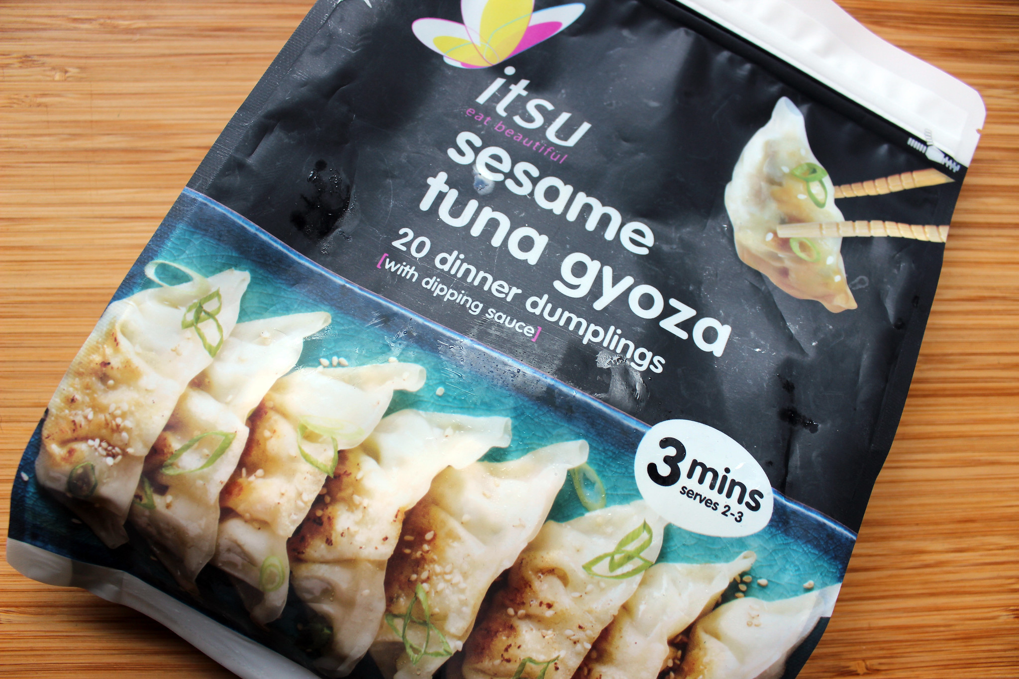 Itsu Gyoza packet