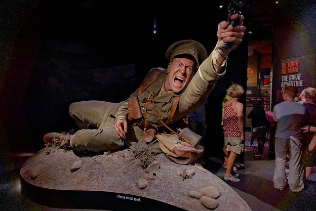 The Gallipoli Exhibition at Te Papa museum