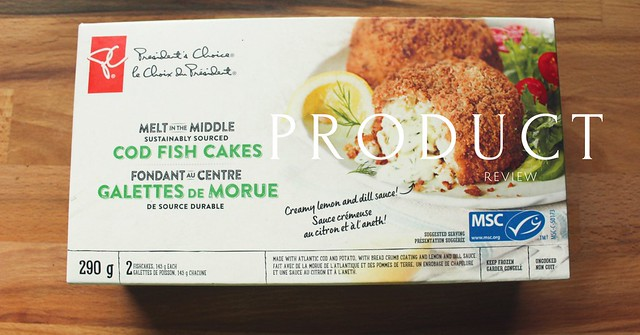 Product Review: PC Melt in the Middle Sustainably Sourced Cod Fish Cakes