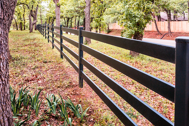 Frontage Fence Line