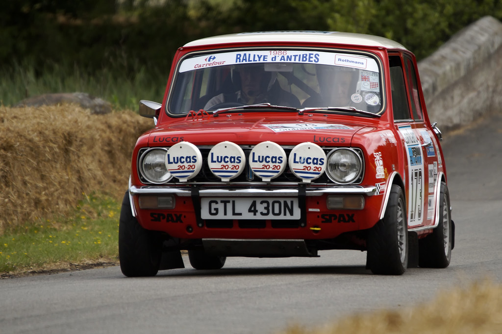 Mini Clubman Rally Car | David Nelson | Flickr