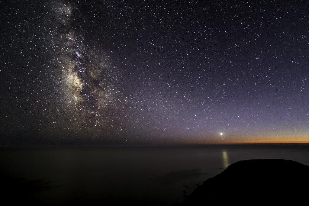 Twilight In Big Sur Last Night Was Amazing For Night Sky