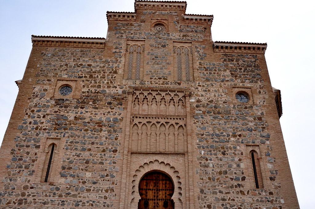270 - Fachada Oeste - Iglesia Santiago del Arrabal (Toledo ...