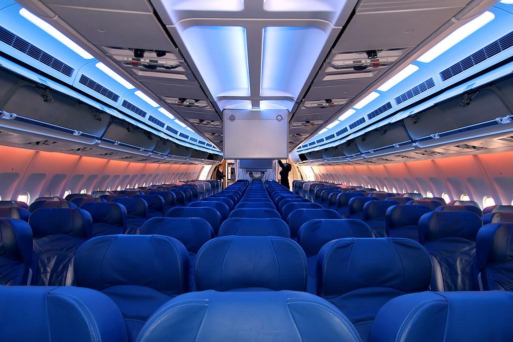 Airbus a310 air transat c fdat economy class totoro - Transat d interieur ...