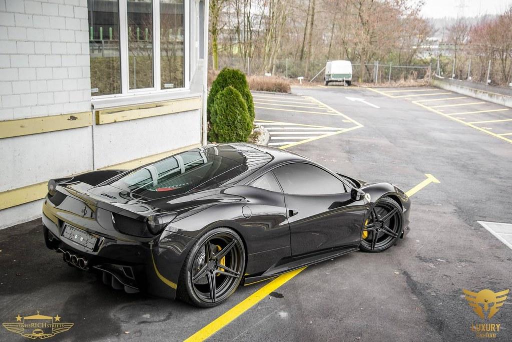 Luxury Custom Ferrari 458 Italia On Adv 1 Wheels