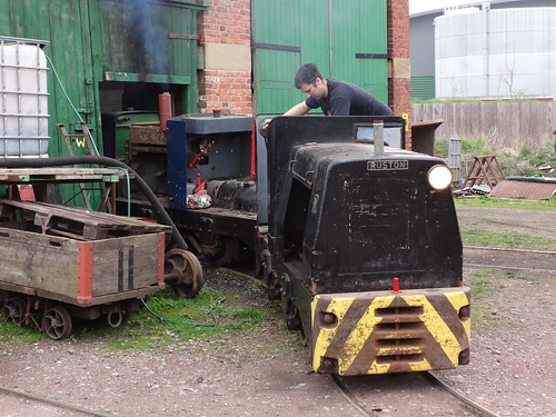 Using Lister Engined Ruston Class