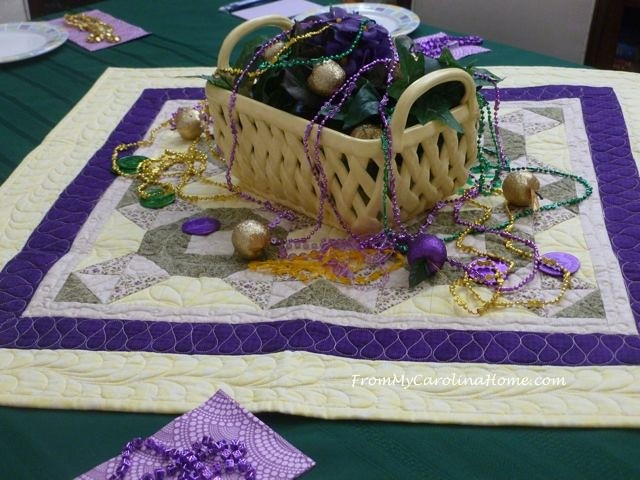 Mardi Gras Meeting table 5