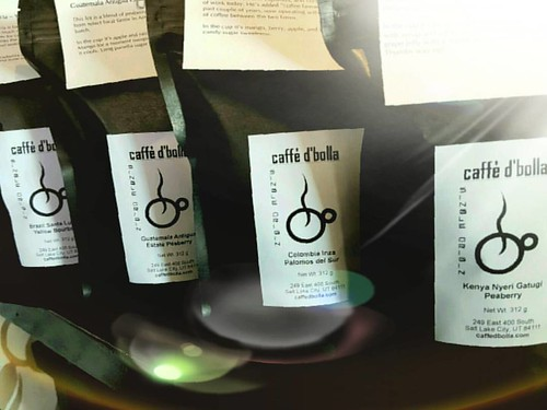 Four amazing coffees just roasted and bagged. Come and get yours today!