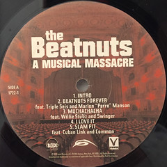 THE BEATNUTS:A MUSIC MASSACRE(LABEL SIDE-A)