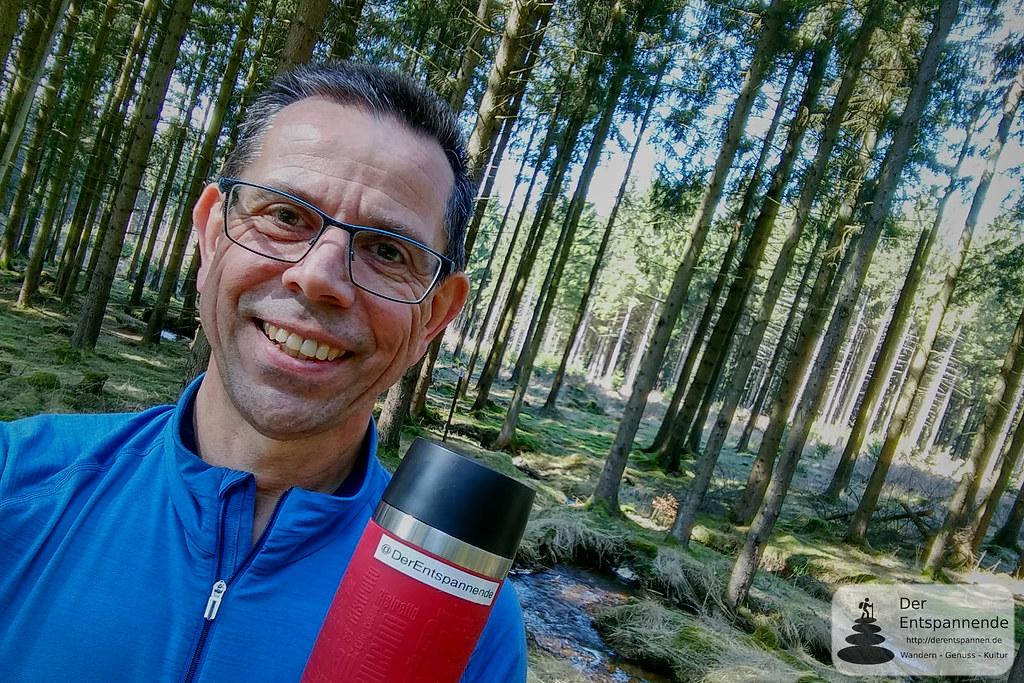 Kaffee am Quellbach auf dem Trauntal-Höhenweg