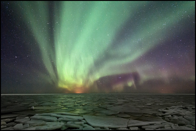 Norrskenet och havet