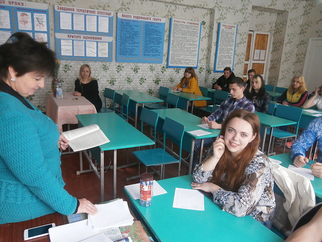 Екзамен–2017. ДПА з української мови в 31 ОКН
