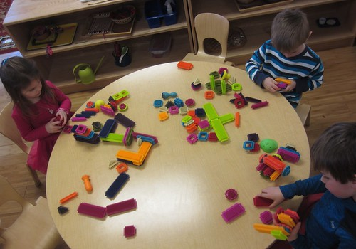 bristle blocks for indoor recess