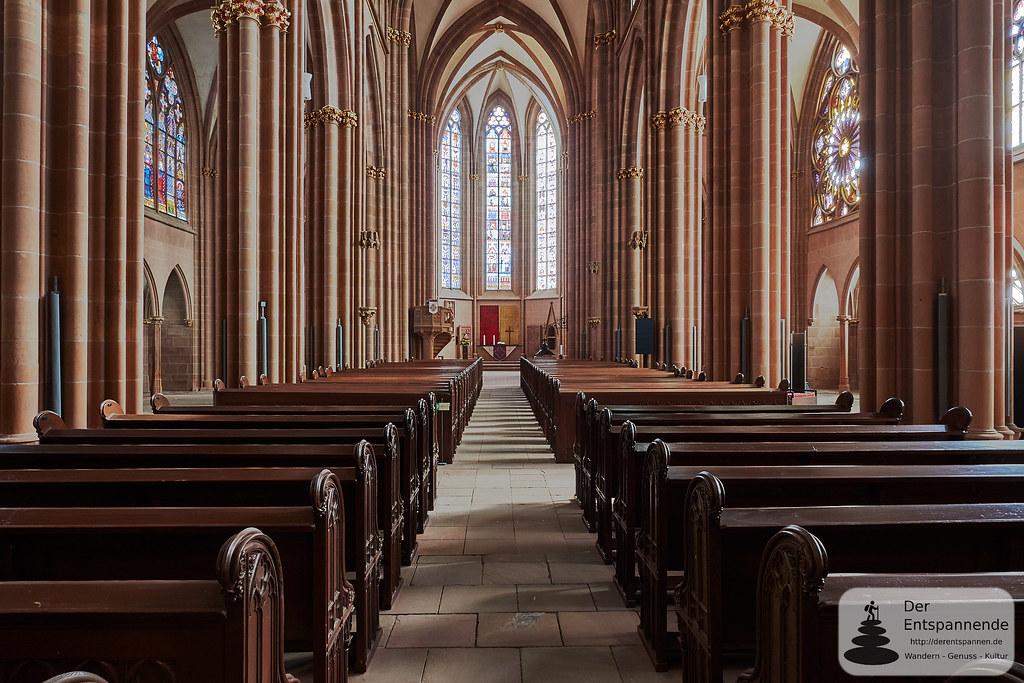Hauptschiff der Katharinenkirche Oppenheim