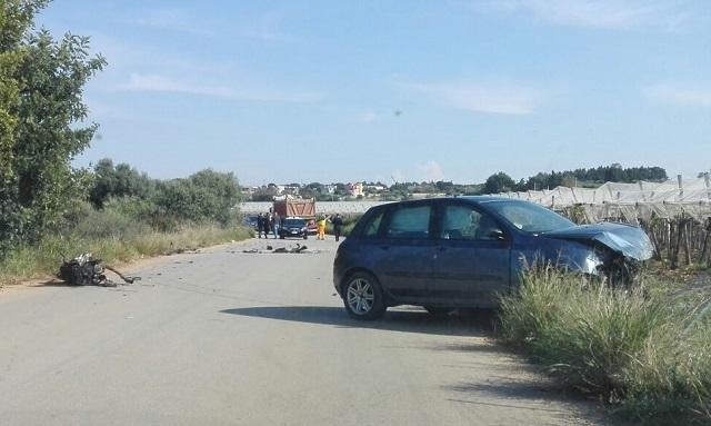 Noicattaro. Incidente strada per Mola intero2