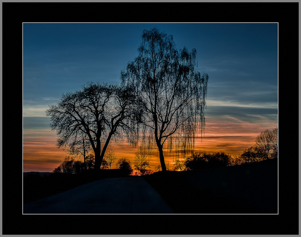 Fahrt ins Abendrot (Drive to the sunset)